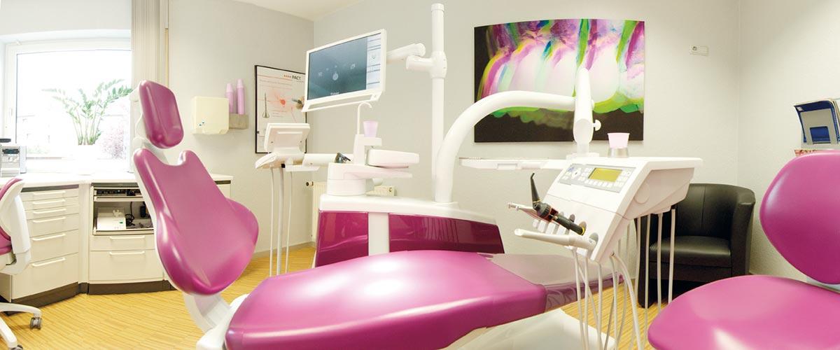 Raum 1 in unserer Zahnarztpraxis in Witten.