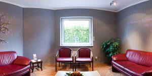 Wartezimmer in der Zahnarztpraxis drs. Kisters, Witten – Link zum Panorama