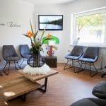 Wartezimmer der Zahnarztpraxis Kisters in Witten